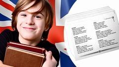 ANGLICKÁ SLOVÍČKA - KARTIČKY ÚROVEŇ 1 | SLEVA 20 %