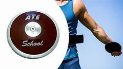 ATE DISK - SCHOOL PURPLE | SLEVA 22 %