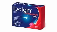 IBALGIN RAPIDCAPS 400 MG | SLEVA 13 %