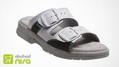 Zdravotní obuv SANTÉ - bílá | sleva 28 %
